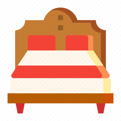 Bed, bedroom, double, furniture, rest icon - Download on Iconfinder