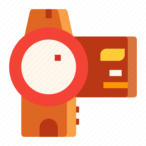 camera, digital, electronic, footage, video icon