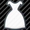 bride, celebration, dress, love, wedding icon