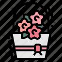 bouquet, flower, honeymoon, rose