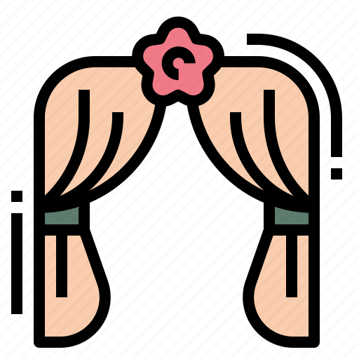 Arch, heart, love, wedding icon - Download on Iconfinder
