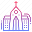 building, chapel, christian, church icon