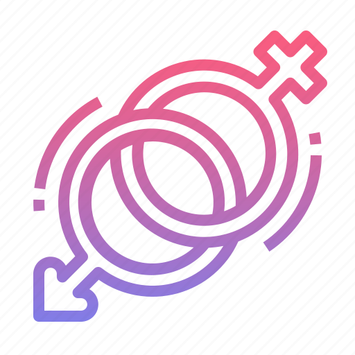 female, gender, male, sex, sign icon
