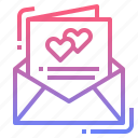 card, invitation, rsvp, wedding icon
