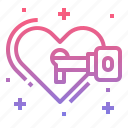 heart, love, romantic, wedding icon