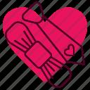 heart, marriage, romance, valentine, wedding icon