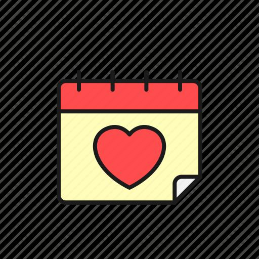 calendar, ceremony, date, love, party, schedule, wedding icon