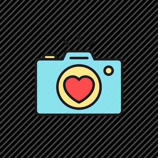 camera, documentation, love, marriage, photo, wedding icon