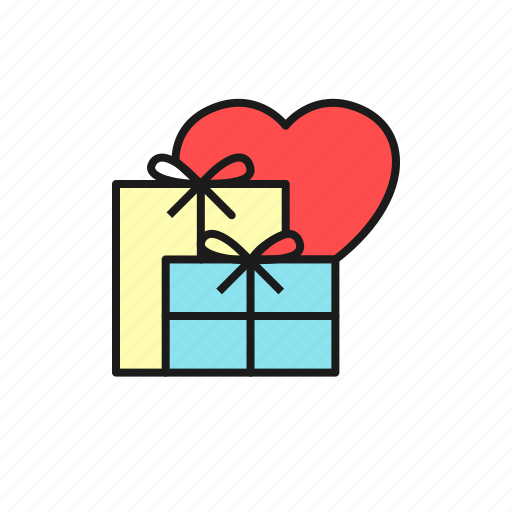 box, gift, love, marriage, party, present, wedding icon