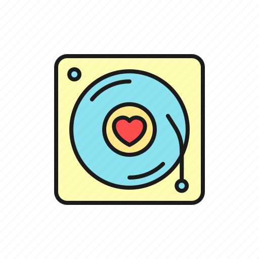 love, marriage, music, party, romantic, song, wedding icon
