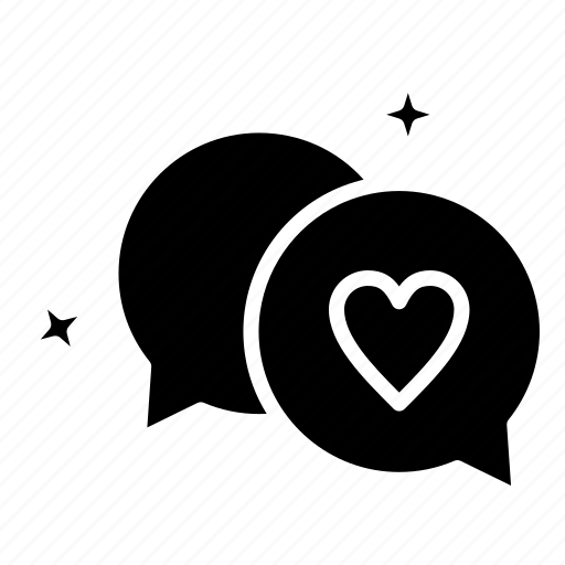 Chatting, heart, love, wedding icon - Download on Iconfinder