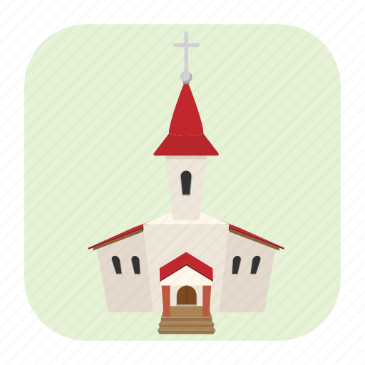building, cartoon, christian, church, cross, religion, traditional icon
