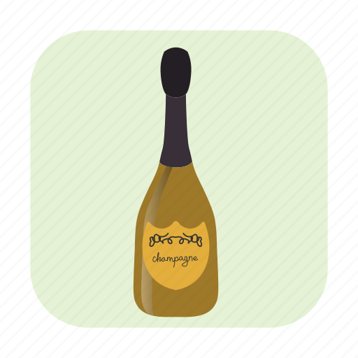 bottle, cartoon, champagne, champaign, closeup, explosion, liquid icon