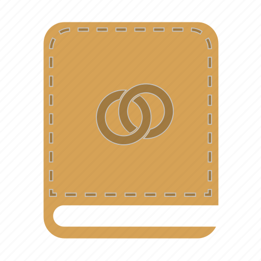 book, ring icon