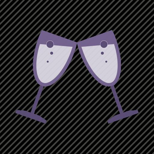 beverage, drink, glass, goblet, wine icon