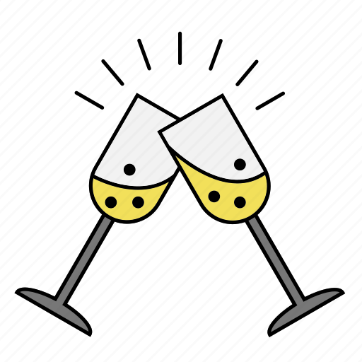alcohol, celebrate, cheers, drink icon