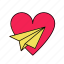 honeymoon, love, romance, valentine icon