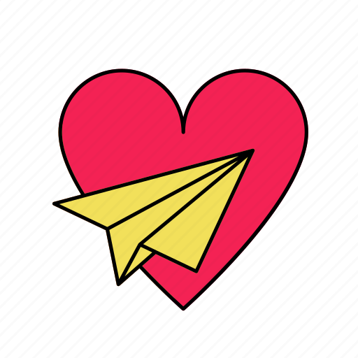 honeymoon, love, romance, valentine icon