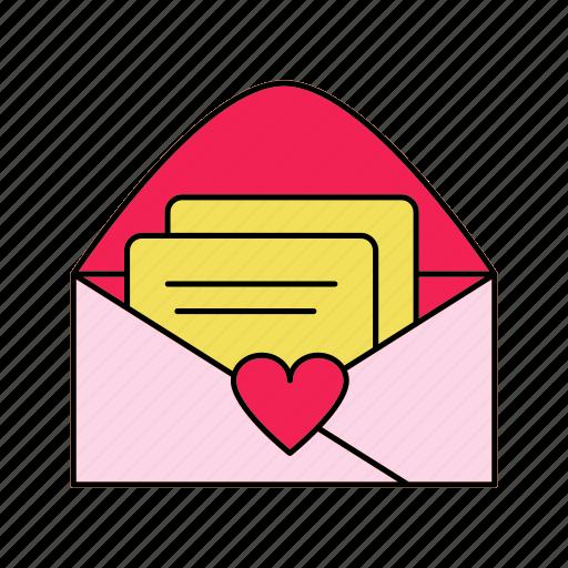 invitation, letter, mail, rsvp icon