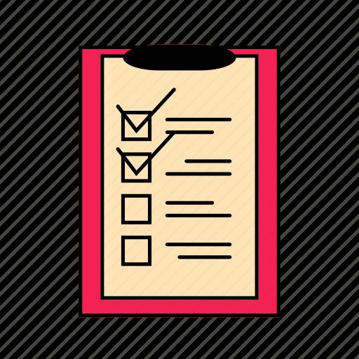 checklist, plan, rsvp, to do icon
