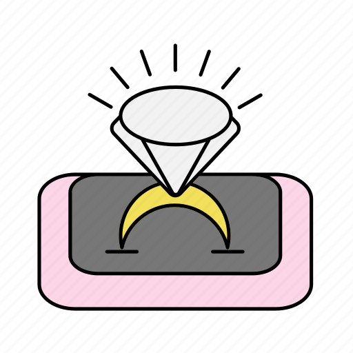 Diamond, jewelry, ring, wedding icon - Download on Iconfinder