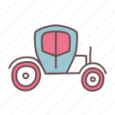 auto, brougham, car, transport, vehicle, wagon, wedding icon