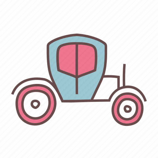 auto, brougham, car, transport, vehicle, wagon, wedding icon