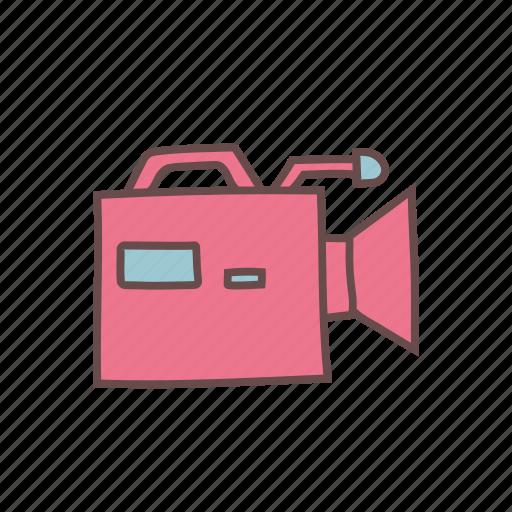 camcorder, camera, digital, media, recorder, technology, video icon
