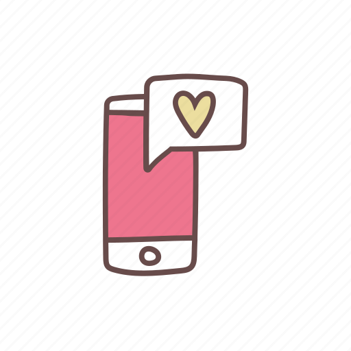 chat, communication, conversation, message, mobile, smartphone, text icon