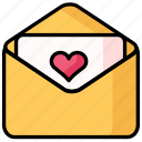 heart, love, romance, wedding icon