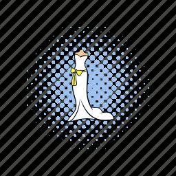 bride, card, comics, design, dress, fashion, wedding icon