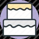 cake, dessert, food, party cake, sweet icon