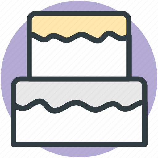 cake, dessert, food, party cake, sweet icon