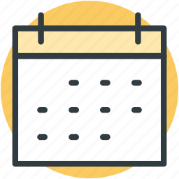 calendar, date, day book, schedule, timeframe, yearbook icon