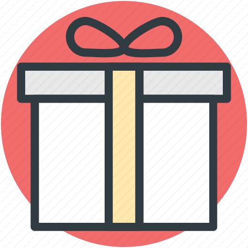 celebrations, gift, gift box, party, present, wrapped gift, xmas gift icon