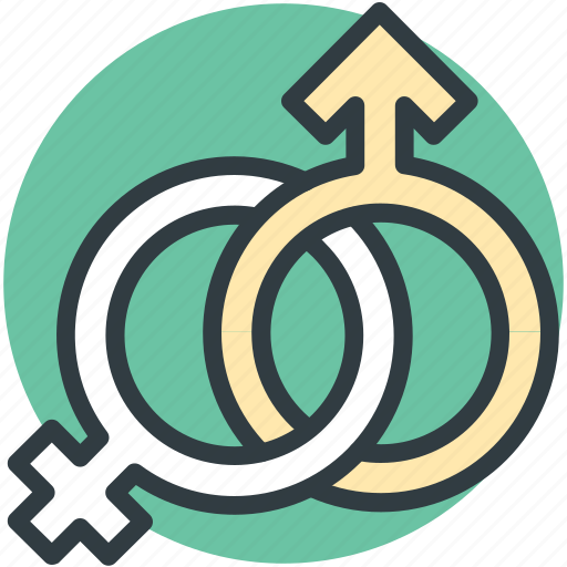 commitment, couple, female, gender, male, relationship, sex symbols icon