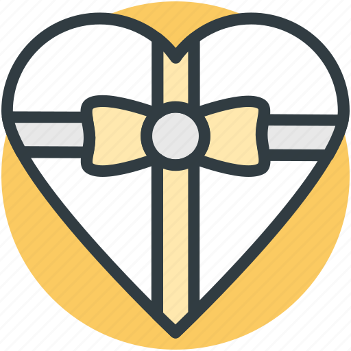 gift box, happiness, heart shaped, love present, passion, present, sensation icon