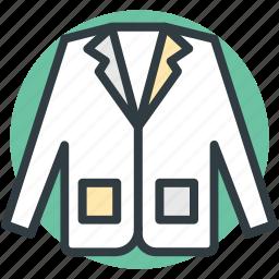 casual clothes, dinner suit, dress coat, dress jacket, men's clothing, men's coat, men's jacket icon