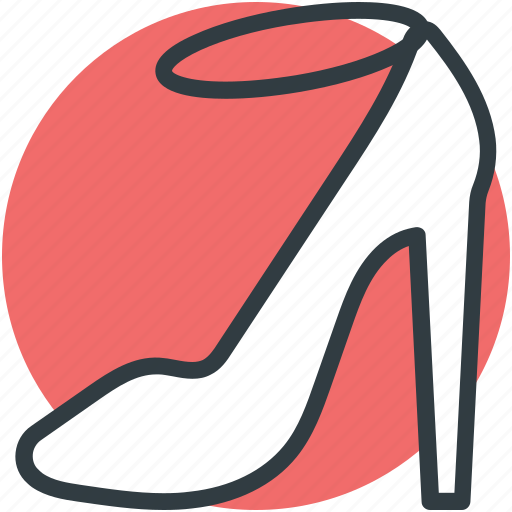 heel sandal, high heel, ladies sandal, strap sandal, summer sandal icon