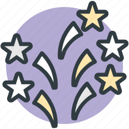 celebration, event, firecracker, firework, party decorations icon