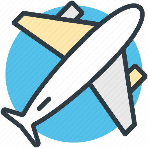 aeroplane, aircraft, airplane, aviation, fly, jet, plane icon