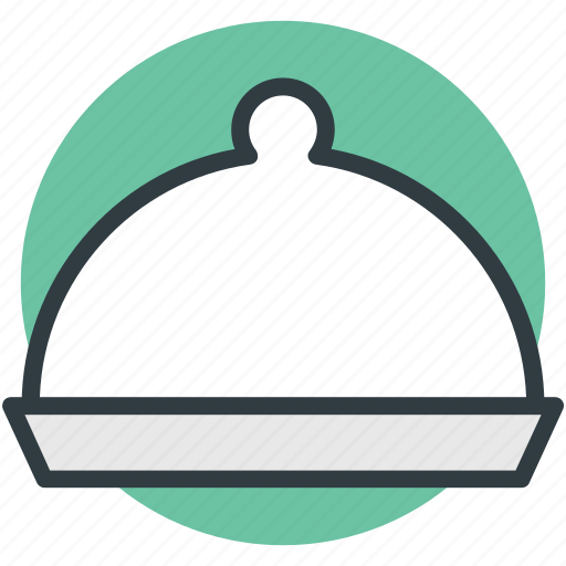 cloche, covered food, cuisine, dining, dishware, food dish, serving dome icon