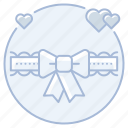 bride, garter, garter belt, marriage, wedding icon