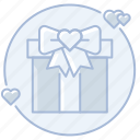 bow, gift, love, marriage, present, ribbon, wedding gift, wedding present icon