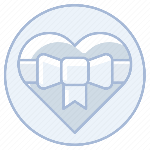 bow, heart, love, marriage, ribbon, wedding icon