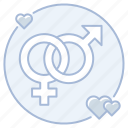 heterosexual, marriage, traditional marriage, wedding icon