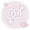 heterosexual, marriage, traditional marriage icon