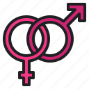 female, gender, love, male, romance, sex, wedding icon