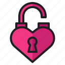 heart, love, open, romance, unlock, valentine, wedding