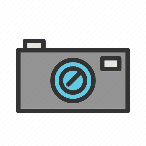 Camera, film, lens, photographic, professional, video, zoom icon - Download on Iconfinder